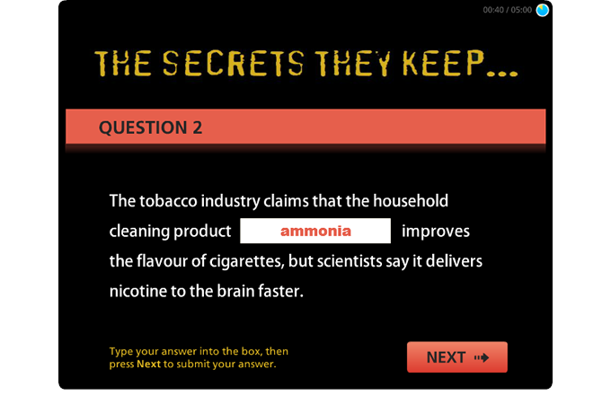 Drug Education eBookbox - The Secrets They Keep Quiz