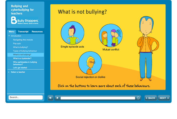 Bulying and cyberbullying for teachers - Introduction