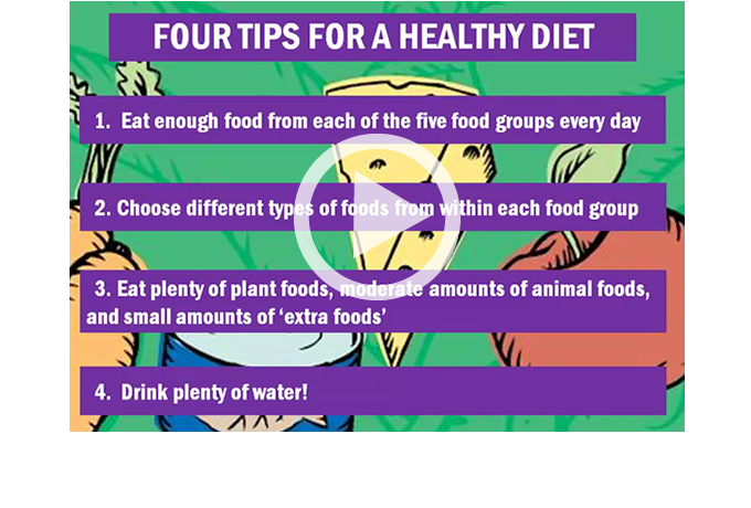 CHAMPS - Healthy Diet video