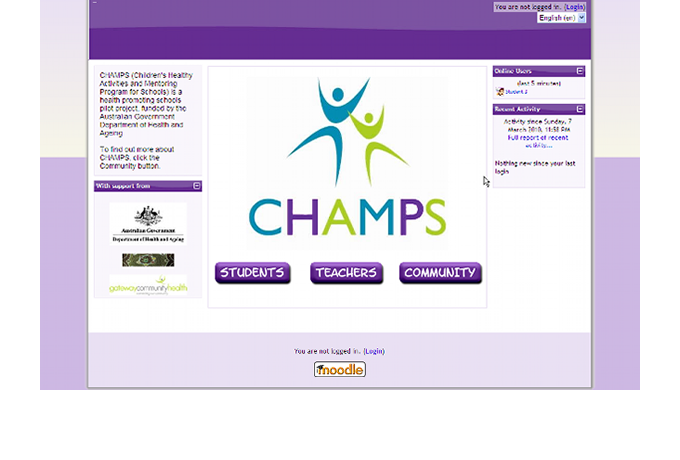 CHAMPS - Homepage