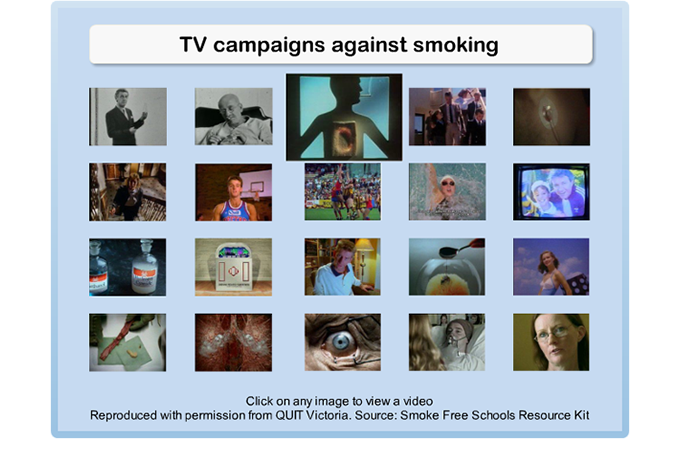 Drug Education eBookbox - Quit Victoria Advertising Campaigns