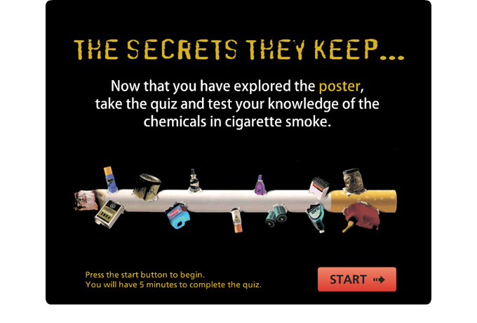 Drug Education eBookbox - The Secrets They Keep Quiz Intro